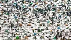«Игрушечный» снимок посёлка под Архангельском стал победителем престижного конкурса