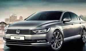 Комфортный автомобиль Volkswagen Passat от компании mercur-auto.kz