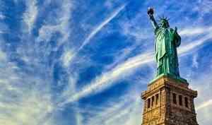 Статуя Свободы. Известная достопримечательность США.