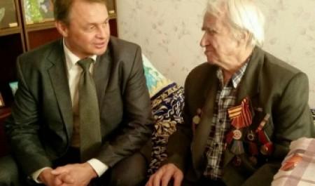 Глава встретился с ветеранами Великой Отечественной войны