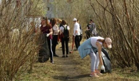 В Северодвинске прошла масштабная акция «Театральному озеру – чистые берега!»