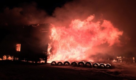 В пожаре на Кегострове погибло два человека