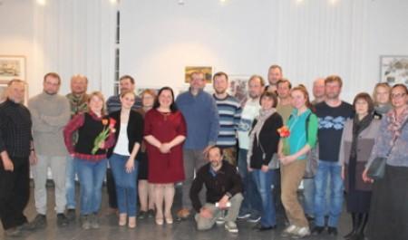 Участники пленэра «Белые ночи Каргополья» провели творческую встречу