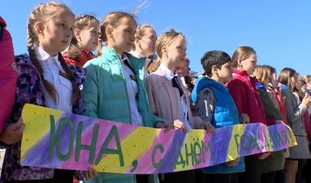 12 школьных отрядов сегодня вступили вобщественную организацию «Юность Архангельска»