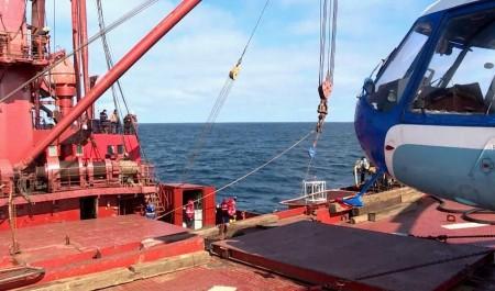 «Михаил Сомов» увёз учёных в арктическую экспедицию