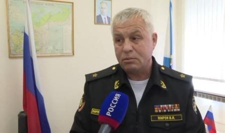 Контр-адмирал Валерий Мирон назначен военным комиссаром Архангельской области
