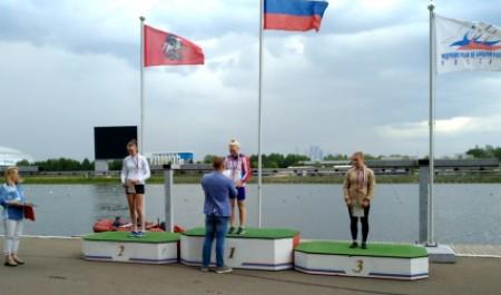 Архангельская байдарочница Маргарита Елфимова завоевала золотую медаль на первенстве России в Москве