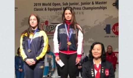 Виктория Юльцова завоевала золото первенства мира по пауэрлифтингу