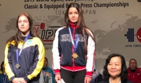 Архангельская спортсменка победила на первенстве мира по пауэрлифтингу