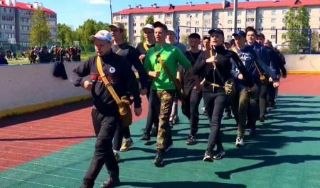 ВКоряжме прошли военно-полевые сборы для десятиклассников