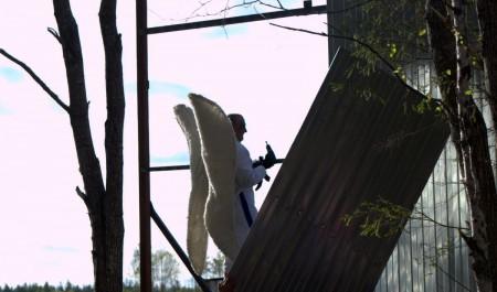 На Шиесе активисты демонтируют забор вокруг стройки полигона