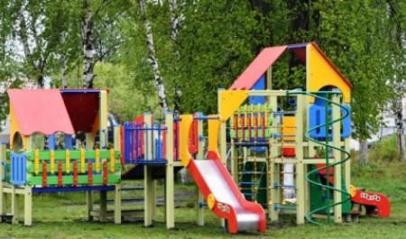 Две новые детские спортивные площадки появятся в поселке Катунино