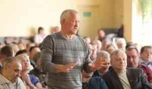 Игорь Орлов встретился с жителями Котласа и Котласского района
