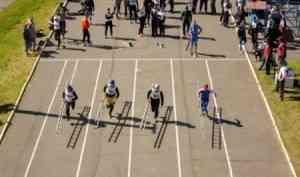 В Архангельске открылись соревнования по пожарно-прикладному спорту
