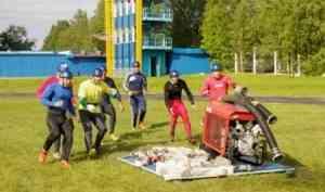 В Архангельске завершились соревнования по пожарно-спасательному спорту