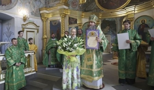 Митрополит Даниил в праздник Троицы совершил Литургию в Архангельске