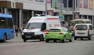 В Архангельске на пешеходном переходе сбили подростка
