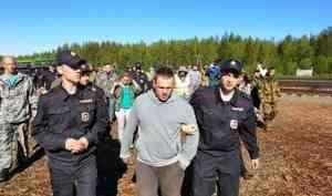 Пострадавший в стычке 31 мая на Шиесе активист получил за нее штраф в 500 рублей