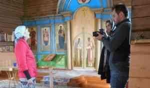 Север зовет: в Онежском районе работала съемочная группа телеканала «Спас»