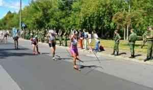 Спортсменка из Архангельской области взяла «золото» на Кубке России по лыжероллерам