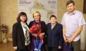 Университет поздравил Елену Шатковскую с вручением Государственной премии Российской Федерации