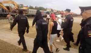 Арест и пять тысяч рублей: за выходные осудили двух активисток Шиеса