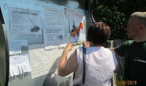 В Котласском районе проводятся противопожарные инструктажи населения