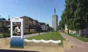 Фоторамка-наличник станет новым арт-объектом главной пешеходной улицы Архангельска
