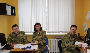 В управлении Росгвардии по Архангельской области отмечают профессиональный праздник подразделения правового обеспечения