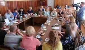 В Каргополье обсуждают реализацию нацпроектов и отмечают юбилей музея