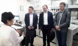 Представители «Газпромнефть НТЦ» познакомились с исследователями и инфраструктурой САФУ