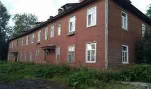 В Архангельске сошёл со свай третий деревянный дом с начала месяца
