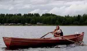 Архангельская область: Гонки на весельных лодках