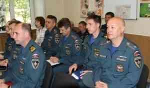 Главное управление МЧС России по Архангельской области проводит выездные совещания по вопросам организации служебной деятельности