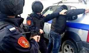 В Северодвинске сотрудники Росгвардии задержали нарушителя общественного порядка