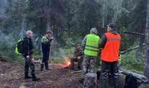 Архангельские волонтёры и спасатели нашли заблудившегося пенсионера