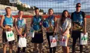 Финал 6-го сезона Кубка РВА по пляжному волейболу состоялся в Архангельске