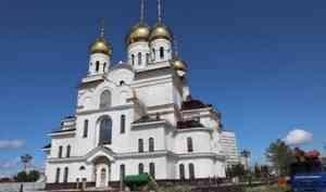 У Кафедрального собора в Архангельске началось благоустройство