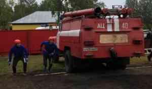 В Няндоме проходят XIII Областные соревнования по пожарно-прикладному спорту