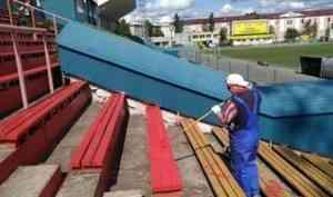 Стадион «Труд» готовят к жаркому хоккейному сезону