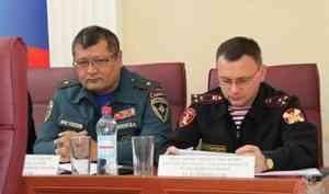 Начальник Управления Росгвардии по Архангельской области принял участие в заседании коллегии регионального УМВД России