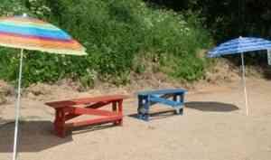 В Архангельской области открыт 21 пляж