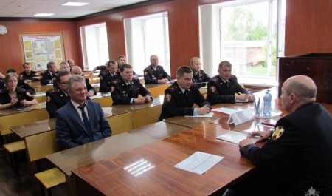 В Архангельске прошли учебно-методические сборы для руководителей отделов вневедомственной охраны Росгвардии