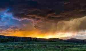 В Архангельской области ожидается сильный дождь и гроза