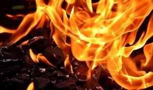 В Холмогорском районе ночью сгорел дом