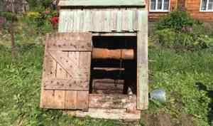 Мужчина насмерть замёрз в колодце в Архангельской области