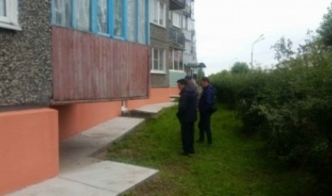 Приняты работы по капитальному ремонту фасадов многоквартирных домов, расположенных по адресу ул. Ленина, д.18а и 20.