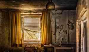 Здания-«заброшки» в Устьянах закроют для доступа людей