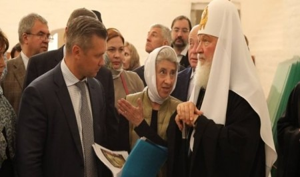 Патриарху рассказали о реставрации Соловецкого монастыря