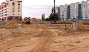 На стройплощадке ЖК «ID Морской»* в Северодвинске началась забивка свай